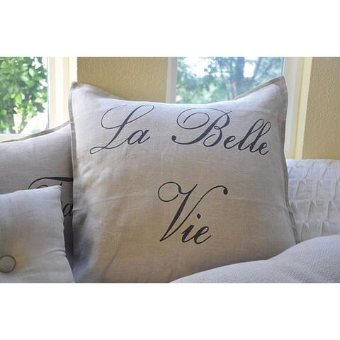 La Bell Vie 20-inch Pillow