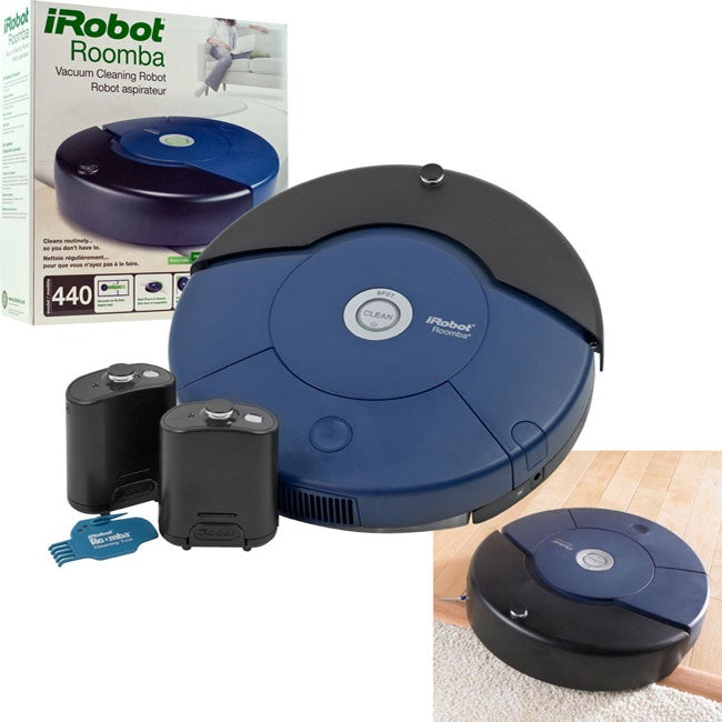 Irobot Roomba 440 Vacuum Cleaner Free Shipping Today