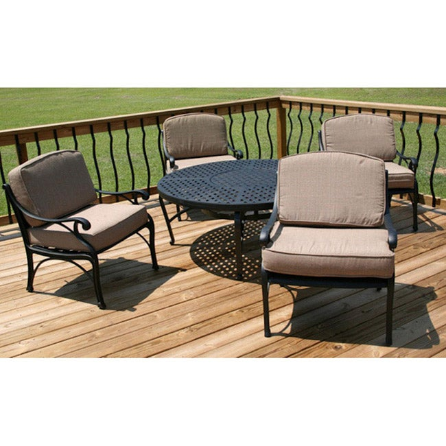 shop kingston outdoor classics catalina 5 pc outdoor furniture set rh overstock com kingston outdoor furniture collection kingston garden furniture