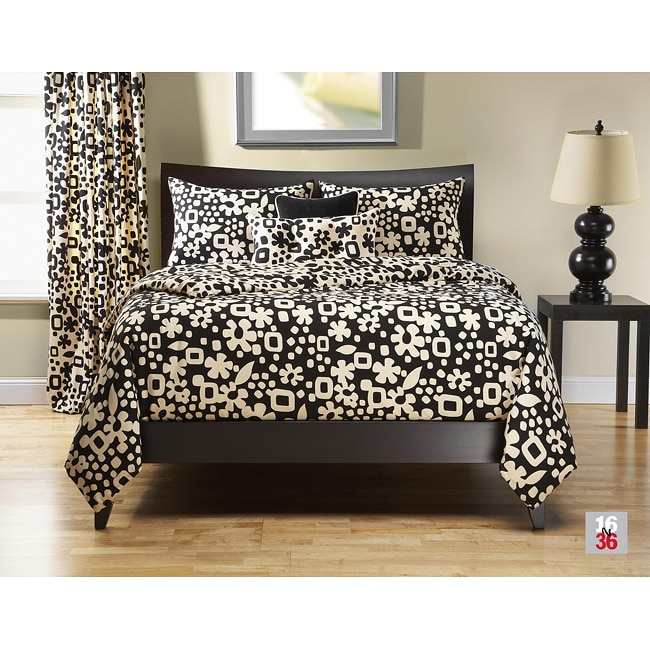 Zulu Night 6-pc King-size Duvet Cover and Insert Set