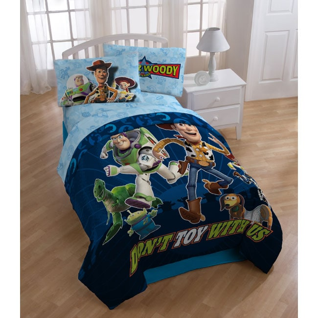 Overstock Toys For Boys : Disney pixar toy story full piece bed in a bag free
