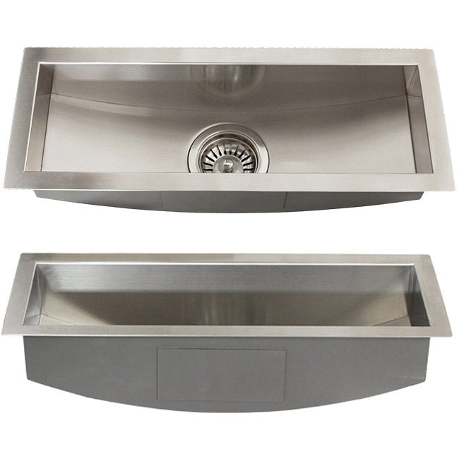 Trough Sink Undermount : ... Royal Stainless Steel 16-gauge 22-inch Trough Undermount Kitchen Sink
