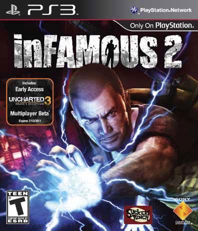 PS3 - Infamous 2