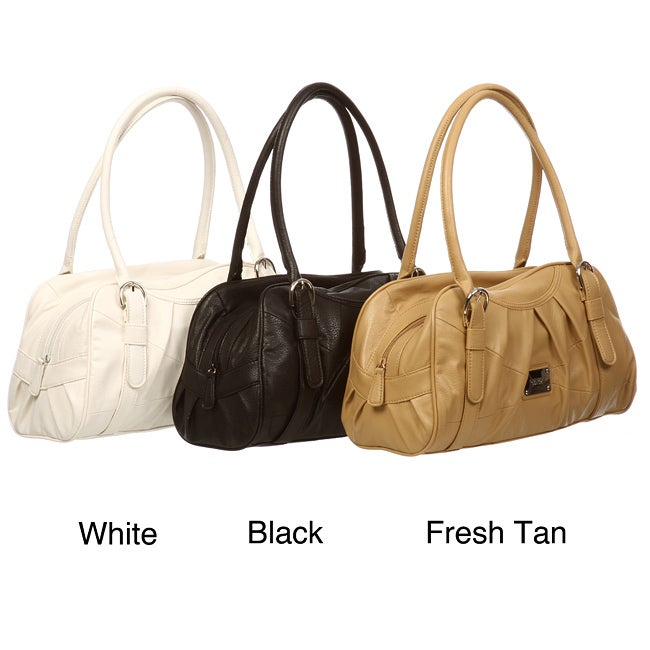 400006bcb8 Shop Nine West  Luxor  Large Satchel - Free Shipping On Orders Over  45 -  Overstock - 5578050