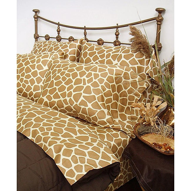Giraffe Safari Full-size Sheet Set