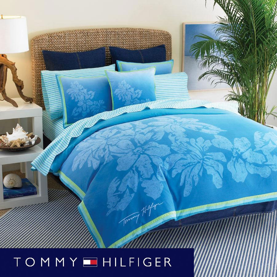 Tommy Hilfiger Santa Cruz Full Queen Size Comforter Set
