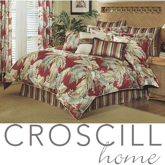 Croscill Palm Beach California King Size Comforter Set