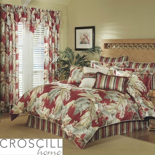 Croscill Palm Beach Queen Size Comforter Set