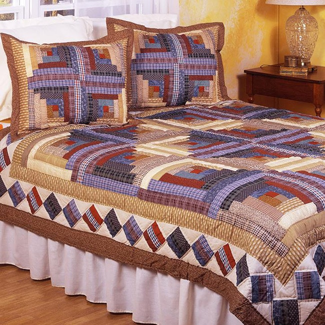 Colby's Cabin 3-piece Bedspread Set