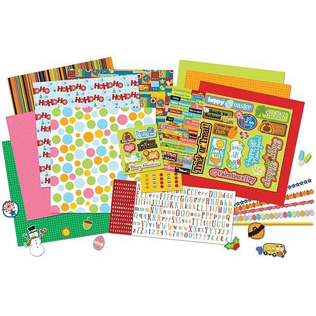 All Seasons Mega Scrap Kit