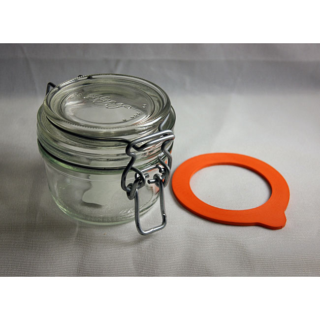 Le Parfait 4.5-oz Canning Jars (Pack of 3)