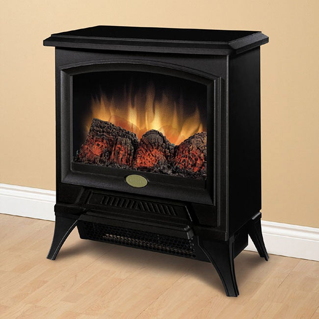 Dimplex CS-12053A Metal/ Glass Compact Stove with Electri...