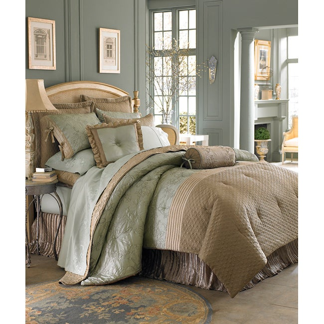 Luxe Versailles Tuileries 4-piece California King-size Comforter Set - Thumbnail 0