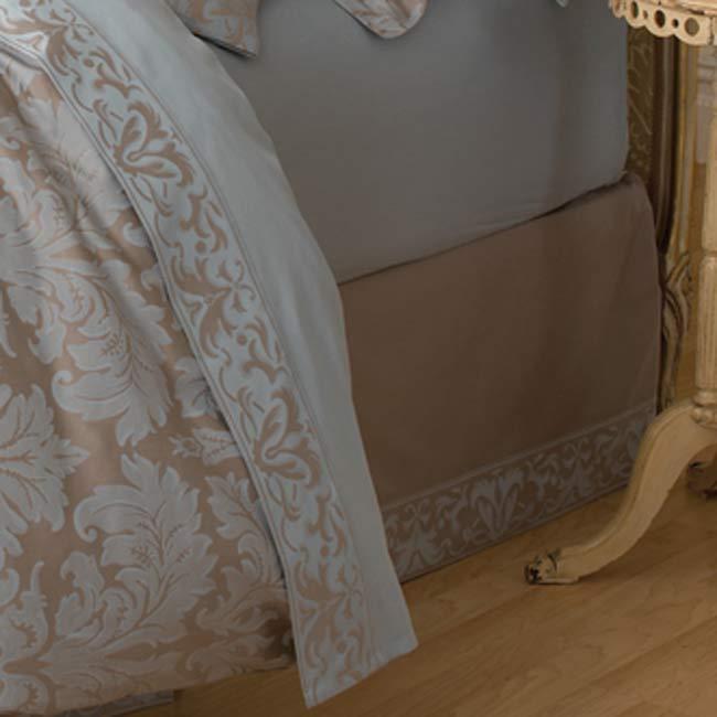 Veneto Slate Bello Letto 14-inch Drop King-size Bedskirt