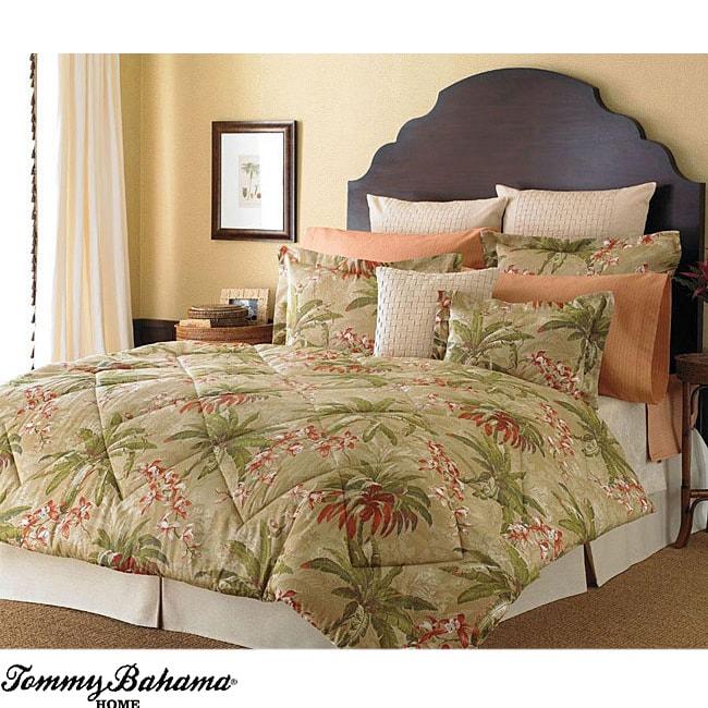 Tommy Bahama Viscaya 4-piece Queen-size Comforter Set