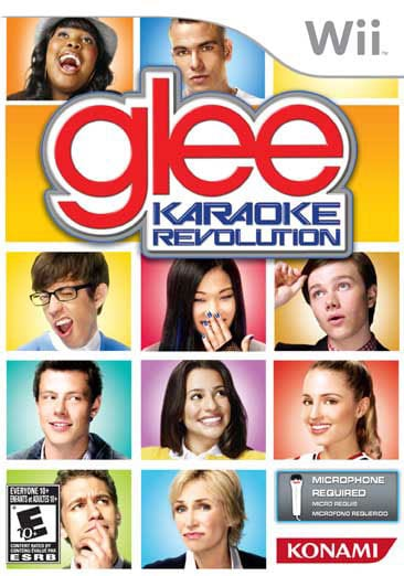 Wii - Karaoke Revolution Glee (Software Only) - By Konami - Thumbnail 0
