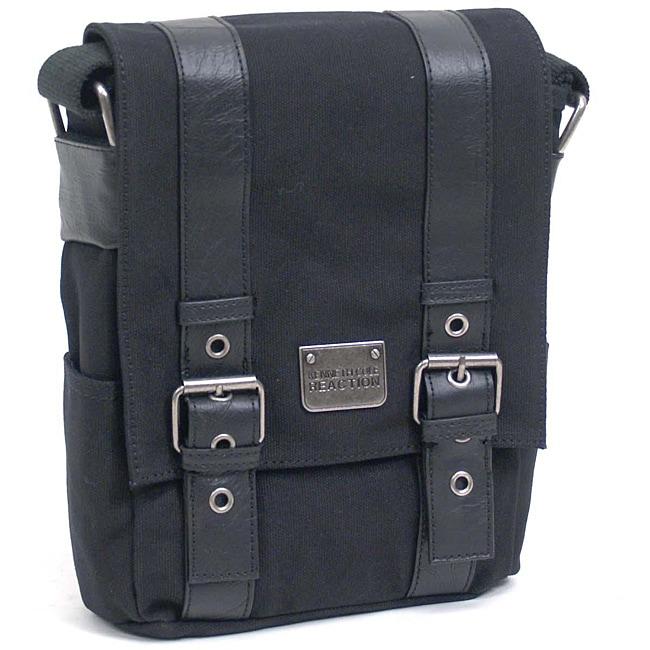 Kenneth Cole Reaction 'Bag-neto' Canvas Vertical Messenger Bag