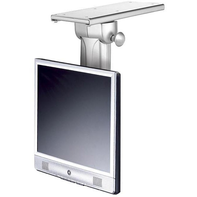 Cotytech flip down under counter mount free shipping - Under the cabinet kitchen tv ...