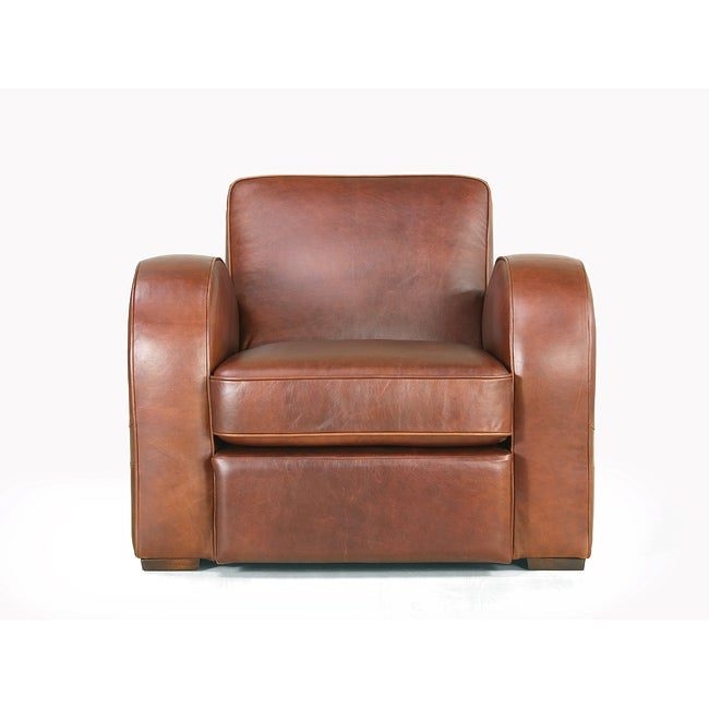 Shop Rocket Leather Bay Chair   Free Shipping Today   Overstock   5616367