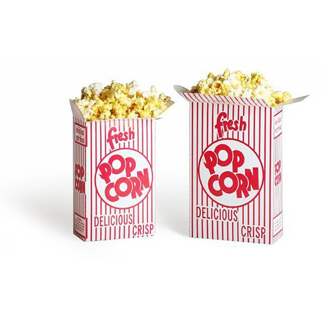 Movie Theater 1.25-oz Popcorn Boxes (Case of 100)