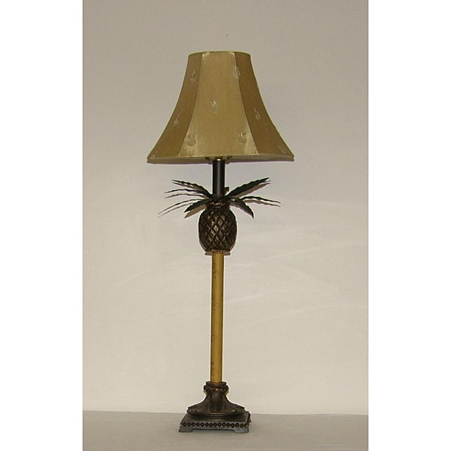 Indoor 1-light Pineapple Buffet Lamp