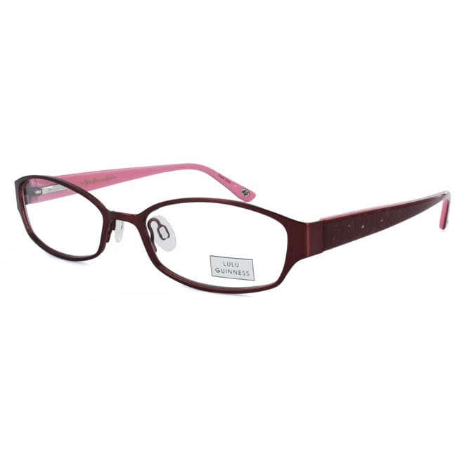 Shop LuLu Guinness Women\'s L680 Optical Frame - Free Shipping Today ...