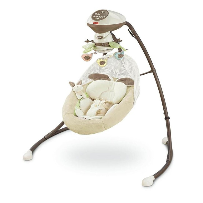 Fisher-Price My Little Snugabunny Cradle 'n Swing - Thumbnail 0