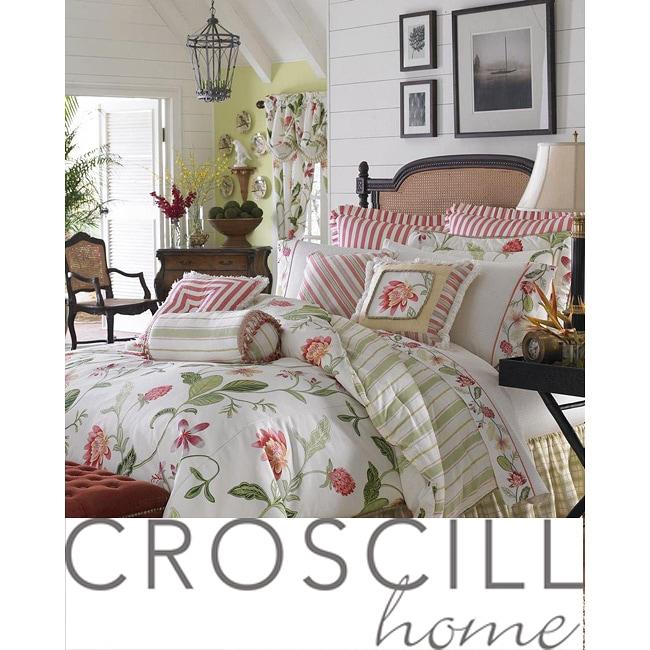 Croscill Hibiscus 4-piece Queen-size Comforter Set