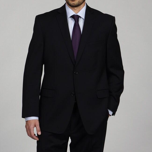Joseph Abboud Men's Black Wool Suit