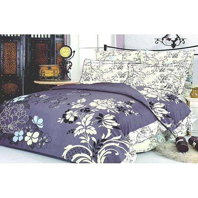 Le Vele Ilyada 6-piece King-size Duvet Cover Set