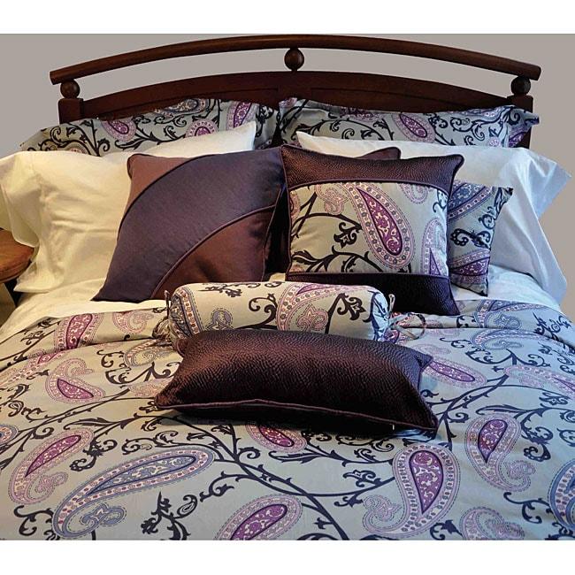 Aliya 3-piece King-size Duvet Cover Set
