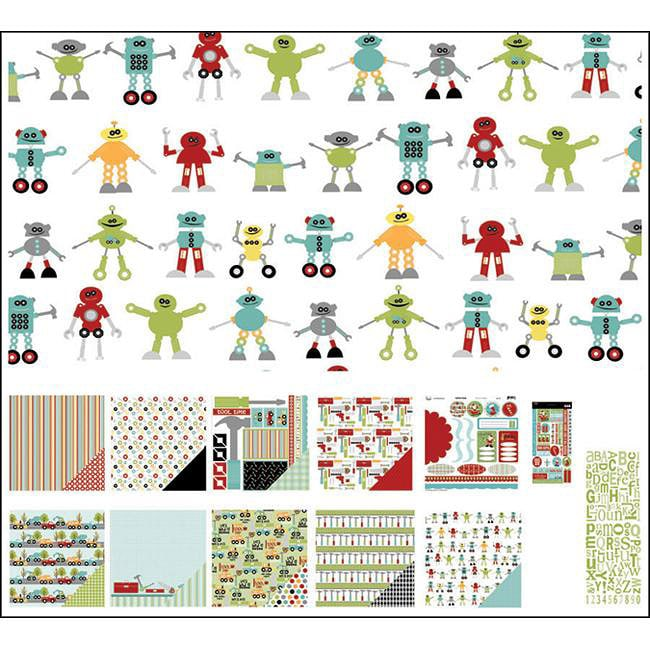 3 Bugs in a Rug Tool Time Caboodle Page Kit (12x12)