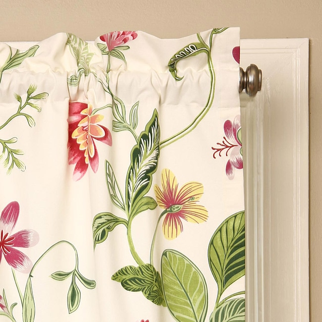 Croscill Hibiscus 84-inch Curtain Panel Pair