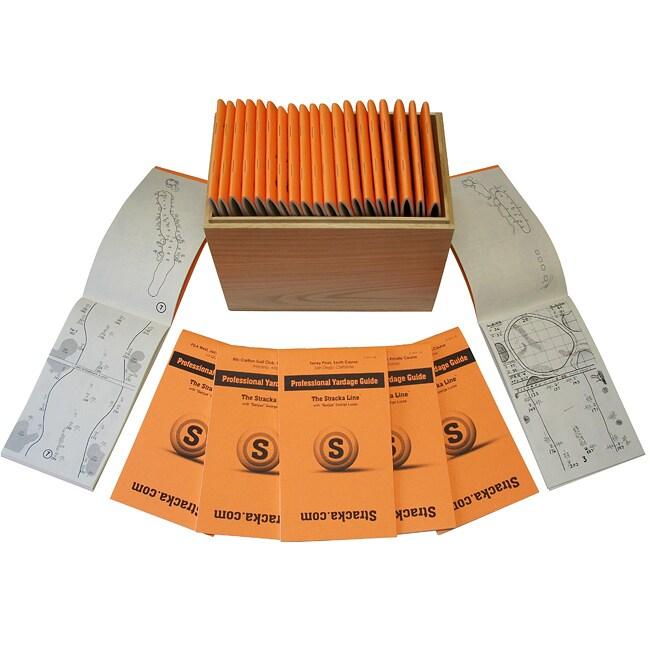 George Lucas 'Collectors Series' Golf Yardage Book Box