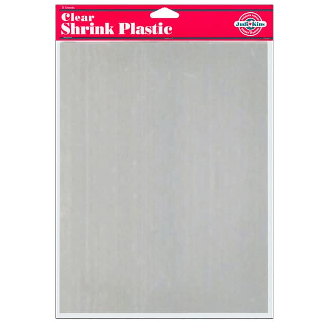 Clear shrink plastic sheets pack of 8 free shipping on for Clear plastic sheets for crafts