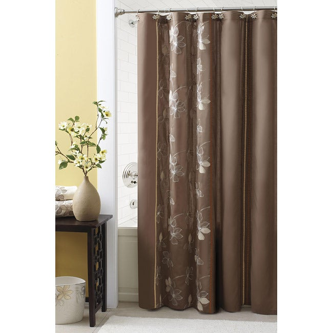 Shop Croscill Cascade Shower Curtain - Free Shipping On Orders Over ...