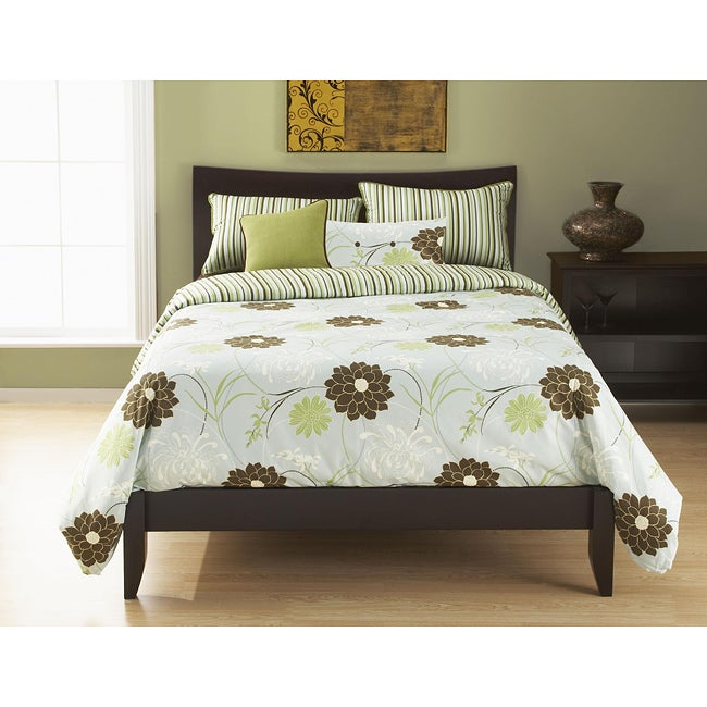 Harmony Queen-size Reversible Duvet Cover and Insert Set