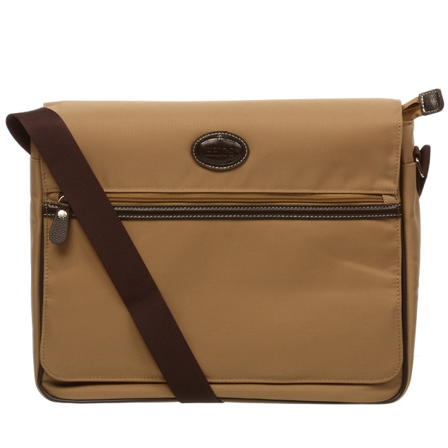 Brics Pronto Flap-over Messenger Bag