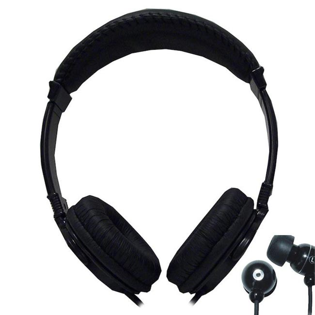 Supersonic 2-in-1 Deep Bass Stereo High Performace Headphone/ Earphones IQ-212