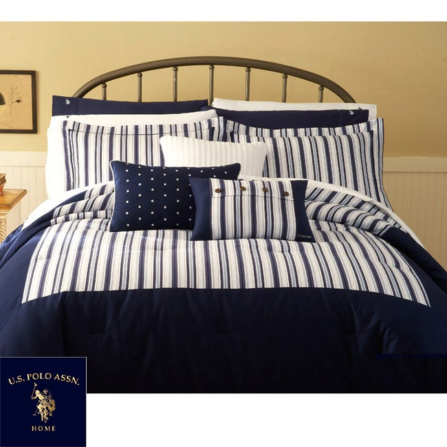 US Polo Association Farmhouse 4-piece King-size Comforter Set