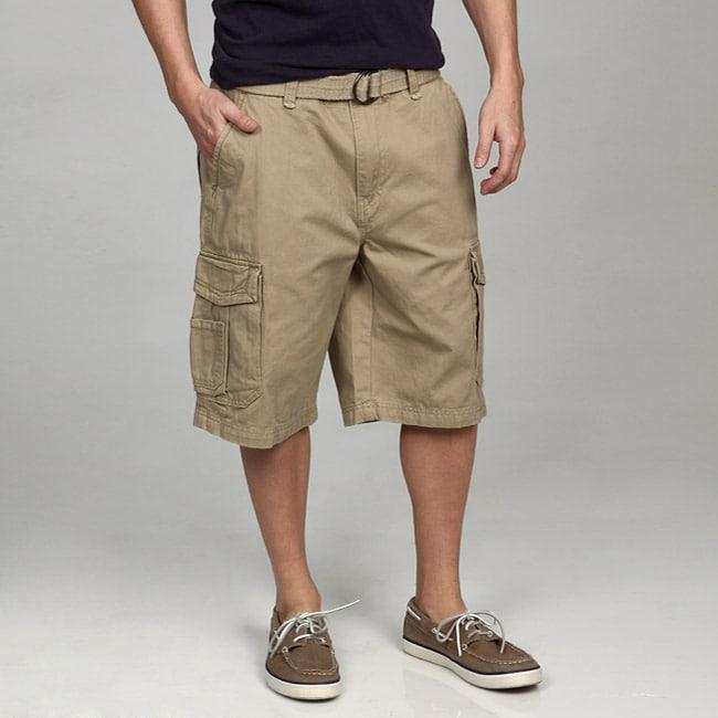 Union Bay Men's Survivor Belted Cargo Shorts