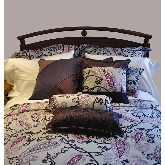 Aliya Queen-size 3-piece Duvet Cover Set
