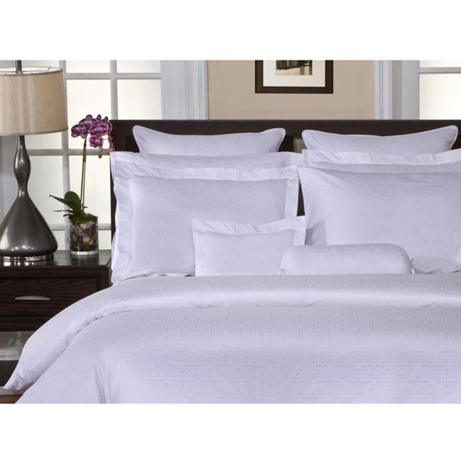Pointehaven 650 Thread Count Luxury Queen-size 3-piece Duvet Cover Set