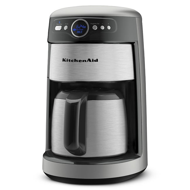 Shop Kitchenaid Kcm223cu 12 Cup Thermal Carafe Coffee Maker Free
