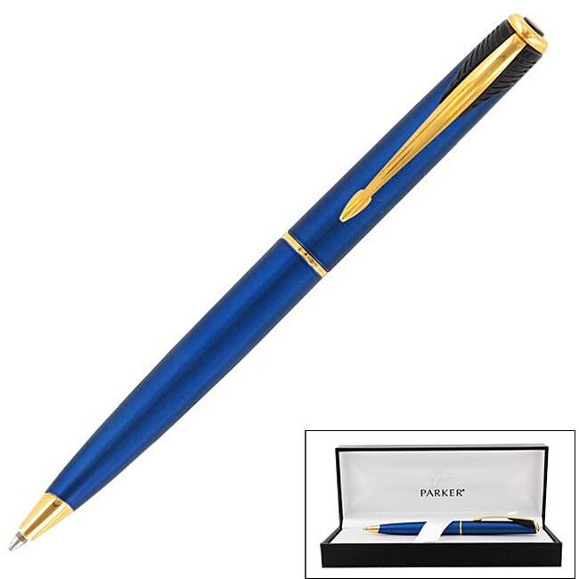 Parker Inflection Tranquil Blue Ballpoint Pen