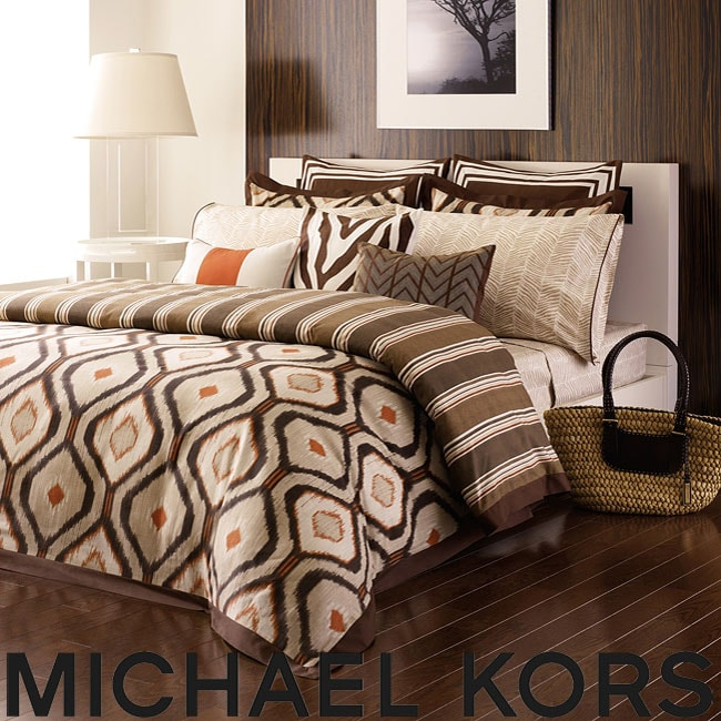 Michael Kors Serengeti King-size 3-piece Duvet Cover Set