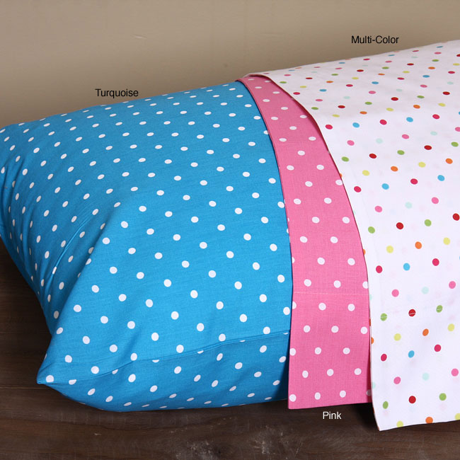 Jenny George Designs Dots 200 Thread Count Sheet Set