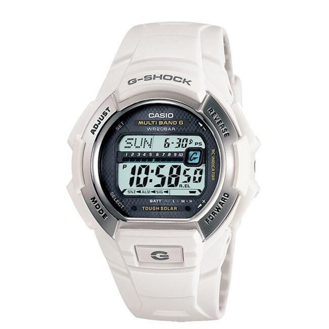 Casio Men's White G-Shock Watch