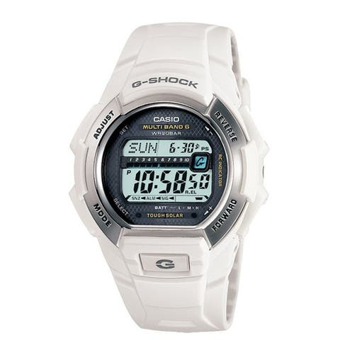 Casio Men's White G-Shock Watch