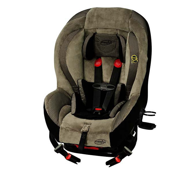 evenflo momentum 65 lx convertible car seat in black rock free shipping today. Black Bedroom Furniture Sets. Home Design Ideas